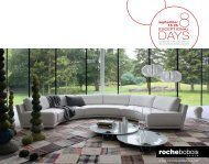 Roche Bobois – 8 Exceptional Days - European Designs