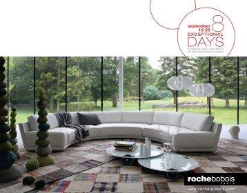 Roche Bobois – 8 Exceptional Days - European Designs