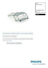 CRP387/01 Philips Pettine regolabarba - Magnavox