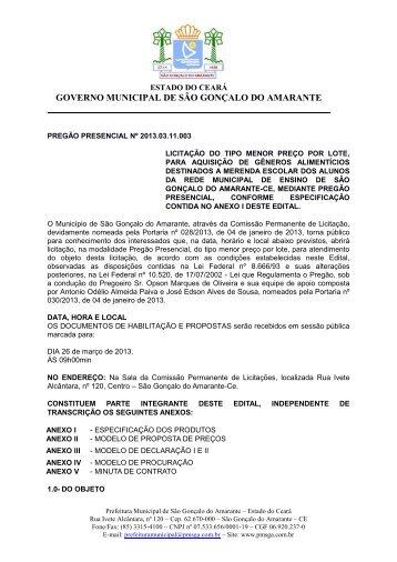 edital - pp 2013.03.11.003 - TCM-CE