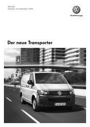 Der neue Transporter