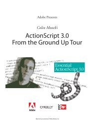 Colin Moock's ActionScript 3.0 From the Ground Up Tour - Adobe