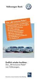 """Endlich wieder buchbar: Das """"All-Inclusive-Paket ... - Autohaus Kahle"""
