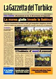 gazzetta 2 - Gruppo Sportivo TURBIKE