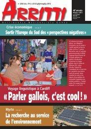 Arritti n°2263 - Fédération Régions et Peuples Solidaires