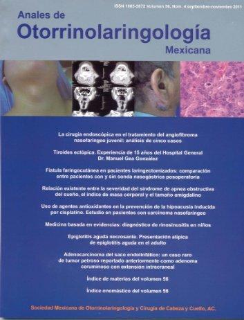 Volumen 56, Núm. 4, 2011 - Sociedad Mexicana de ...