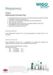 Eronex Kühlerfrostschutz Premium Plus - Wigo