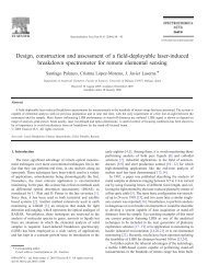 Design, construction and assessment of a field-deployable laser ...