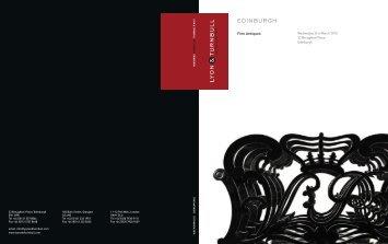 Download PDF Catalogue - Lyon & Turnbull