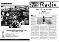 AMERICAN DREAMS ATAU NIGHTMARE? - GRII Sydney