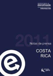 Costa Rica es el país que, históricamente, ha tenido mayor ... - SIICEX