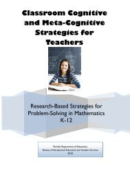 Research-Based Strategies for Problem-Solving in Mathematics