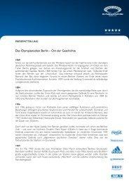 Das Olympiastadion Berlin – Ort der Geschichte