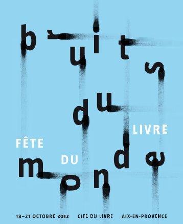 Télécharger le programme complet au format PDF - Cité du Livre