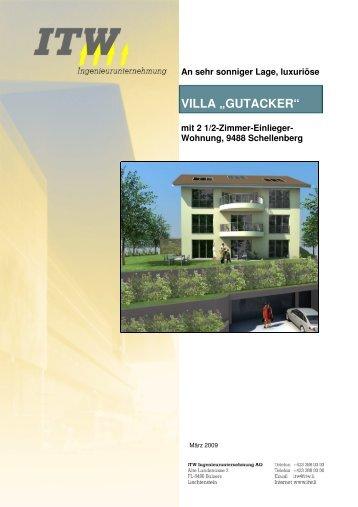 """VILLA """"GUTACKER"""""""