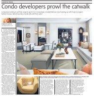 Condo developers prowl the catwalk - Cresford Developments