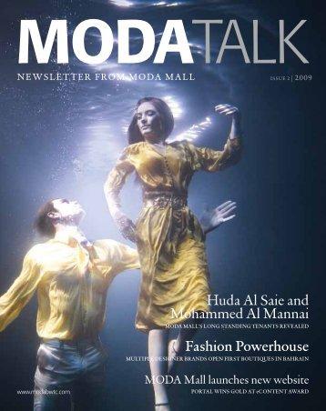 Huda Al Saie and Mohammed Al Mannai Fashion ... - MODA Mall