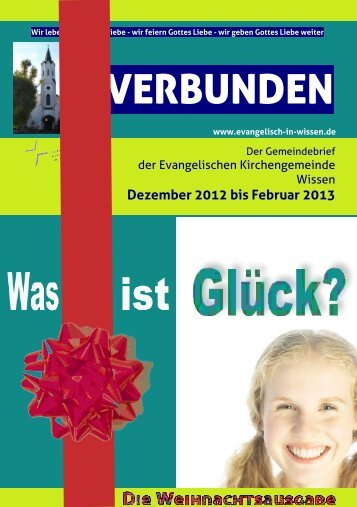 Aktueller Gemeindebrief - evangelisch-in-wissen