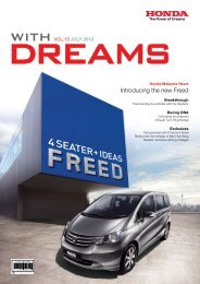 Introducing the new Freed - Honda Malaysia