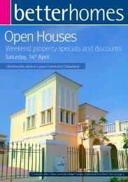 Open Houses - Better Homes LLC