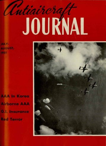 July-August - Air Defense Artillery
