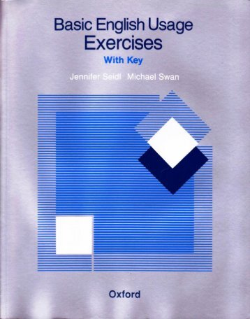Page 1 Basėë/English Usage Exerclses 'i i i Oxford Page 2 Basic ...