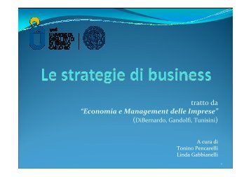 strategie business