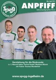 Ausgabe März/April - SpVgg Ingelheim
