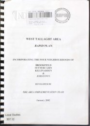 west tallaght rapid area - Source - South Dublin County Libraries