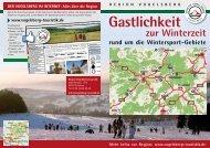 Gastlichkeit zur Winterzeit (PDF) - Vogelsberg Touristik