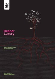 Deeper Luxury Report - WWF UK