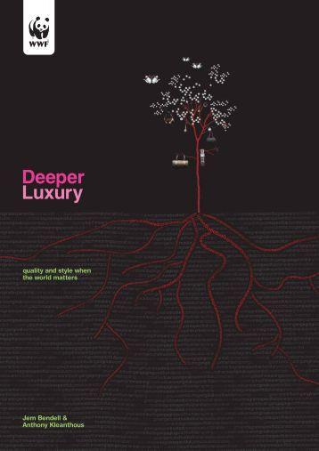 Deeper Luxury Report - WWF UK