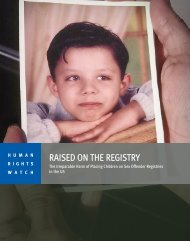 Download the full report - Human Rights Watch