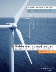 ESTUAIRE DE LA SEINE, pôle industriel éolien - Le Havre ...