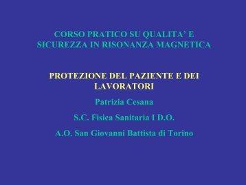 Protezione del paziente e del lavoratore_Cesana.pdf - Istituto ...
