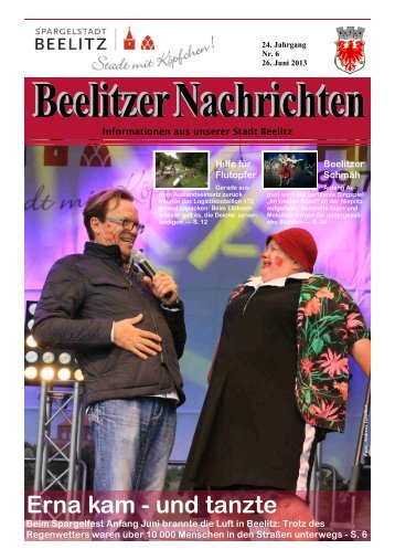 Beelitzer Nachrichten - Juni 2013