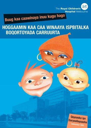 Somali - The Royal Children's Hospital