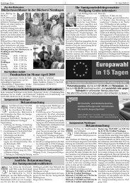 Amtliche Bekanntmachung - Moor Verlag