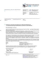 Einladung zu Informationsveranstaltung der ILOGA 2011 ...