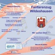 Flyer Fanfarenzug.indd - Wildeshauser Spielmannszug eV