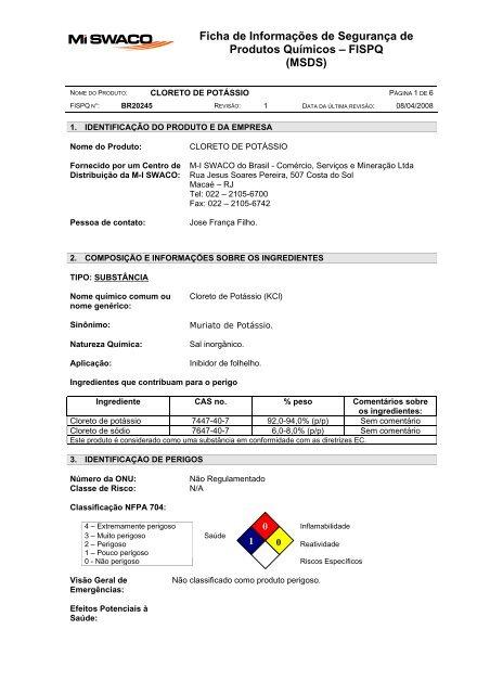 4POTASSIUM CHLORIDE (CLORETO DE POTÁSSIO)