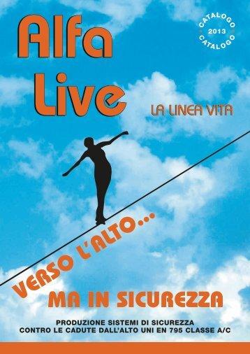 Catalogo - AlfaLive Srl – La Linea Vita