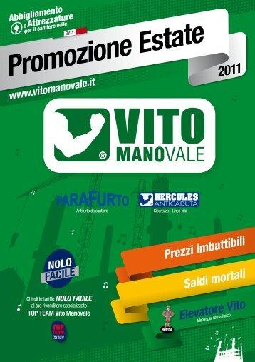 Leggi le offerte sui prodotti Vito Manovale - Luciano Catania srl