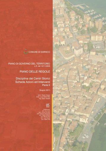 PR_Schede azioni interventi_PR_II - Comune di Sarnico