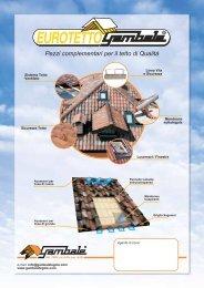 Pezzi complementari per il tetto di Qualità - Gambale Tegole