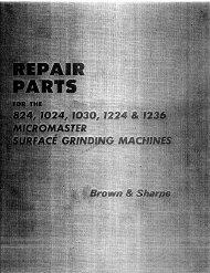 Parts Manual - Garage-Machinist.com