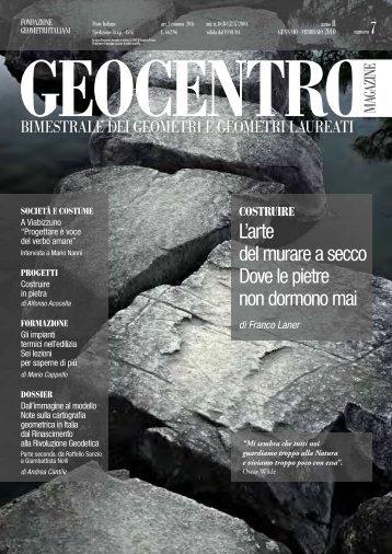 Geocentro Magazine - Fondazione Geometri