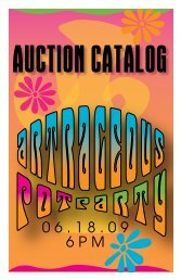 auction catalog - Craft Alliance