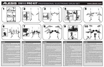 DM10 Kit Assembly Guide - RevA - American Musical Supply