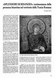 «SPLENDORI DI BISANZIO)): testimonianze della - Biblioteca ...
